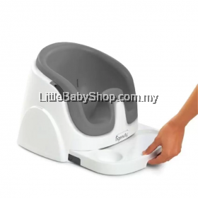 Bright Starts Ingenuity Baby Base 2 in 1 Booster Seat -Grey