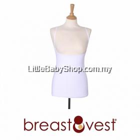 Breastvest - Breastfeeding Top  (White)