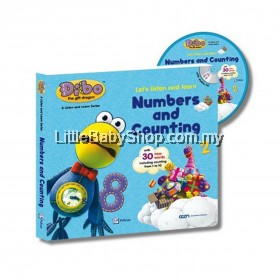 Dibo the Gift Dragon Let's Listen and Learn: Numbers and Counting
