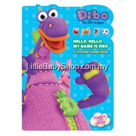 DIBO The Gift Dragon: Hello, Hello, My Name Is Dibo A Sticker Scene Book