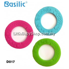 Basilic Silicone Round Teething Ring (D017)