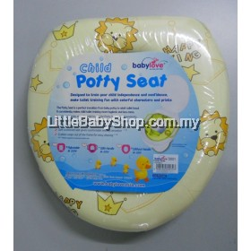 BabyLove Soft Potty Seat With Handle - 1pc (BEST BUY) LION