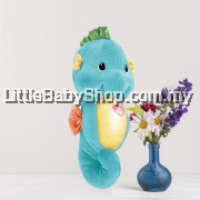 [GENUINE] Fisher Price Soothe & Glow Seahorse - Blue