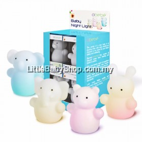 Bremed Obebe Baby Night Light BD3180 (Bear/Elephant/Koala/Rabbit)