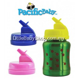 Pacific Baby Toddler Drink Top (BPA Free) 18M+ (Blue/Pink/Yellow)