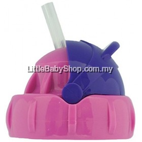 Pacific Baby Straw Top Pink/Purple