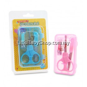 Bee Son Baby Manicure Set - Blue