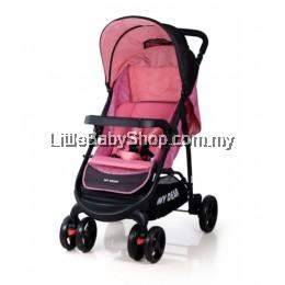 My Dear Baby Stroller 18119 Pink (Newborn - 20kg)