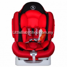 Halford Zeus XT Car Seat - (Red)