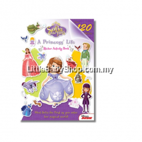 Sofia the First  A Princess's Life Sticker Activity Book