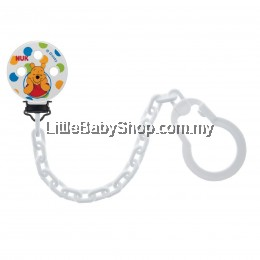 Nuk Disney Soother Chain (Winnie The Pooh)