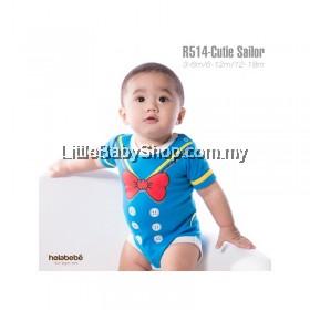 Holabebe: R514-Cutie Sailor Holabebe Romper