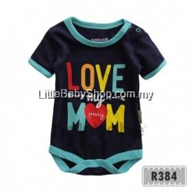 Holabebe: R384-Love My Pretty Mom Holabebe Romper