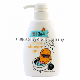 Buds For Kids Orange Shawer Gel (350 ml)