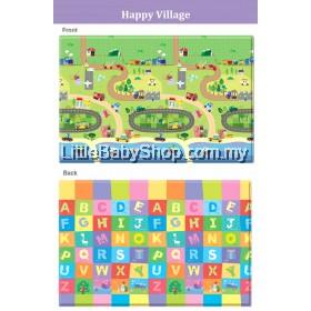 Comflor Babycare PVC Playmat Happy Villages (2100x1400x13mm) - BN14L6