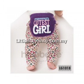 Holabebe: LG1018-Mommy Cutest Girl Holabebe Pants