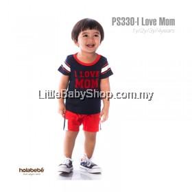 Holabebe: PS330-I Love Mom Holabebe Baby Suit