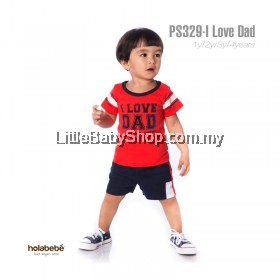 Holabebe: PS329-I Love Dad Holabebe Baby Suit