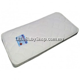 Coconut fibre baby mattress - DAMASK fabric