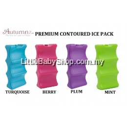 AUTUMNZ Premium Contoured Ice Pack (1pc) - Plum/Berry/Turquoise/Mint