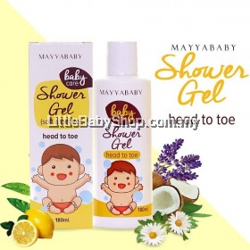 MayyaBaby Shower Gel Head to Toe-Soft & Gentle ( 180ML )