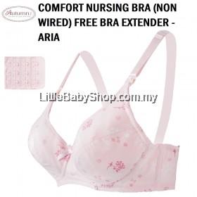AUTUMNZ Comfort Nursing Bra (Non-Wired) Free Bra Extender - Aria