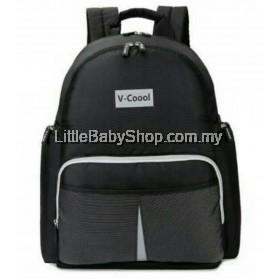 V-Coool Reflective Multifunctional Backpack - Black