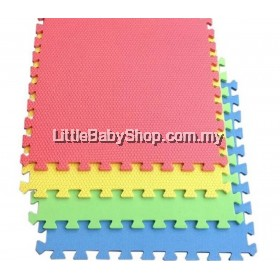 EVA Foam Soft Mat 60x60x1.0cm (6pcs)