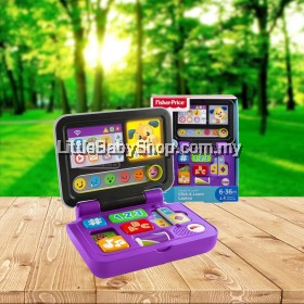 [GENUINE] Fisher Price Laugh & Learn Click & Learn Laptop (6-36M) - Purple