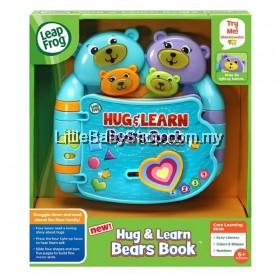 LEAPFROG Hug & Learn Bears Book 6m+