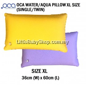[GENUINE] OCA Water / Aqua Pillow XL Adult Size YELLOW (37cm x 60cm) (Single Pack/Twin Pack)