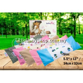 "BABYLOVE Premium 100% Cotton Baby Organic Bean Sprout Pillowcase (5.5"" x 13"")"