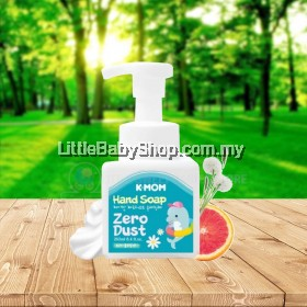 K-MOM Zero Dust Hand Soap (250ml) - New Packaging