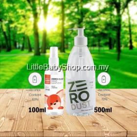 K-MOM Zero Dust Hand Sanitizer (100ml Spray / 500ml Gel)