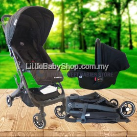 [PRE-ORDER] HALFORD Concerto Travel System HF217 (Stroller + Carrier) - Newborn to 15kg