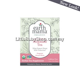 Earth Mama Angel Baby: Certified Organic Milk Maid Tea Bags NEW Packaging (16 Bags)