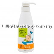 BUDS Organic Everyday Head To Toe Cleanser 425ml