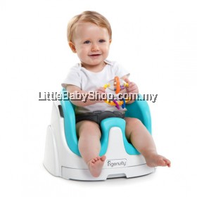 INGENUITY BY BRIGHT STARTS BABY BASE 2-IN-1 BOOSTER SEAT ( TEAL )