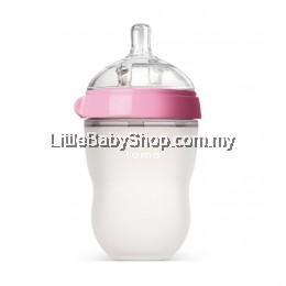 [GENUINE] Comotomo Natural Feel Baby Bottle 250ML Pink