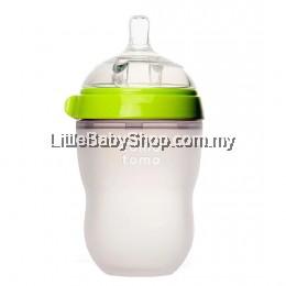 [GENUINE] Comotomo Natural Feel Baby Bottle 250ML Green