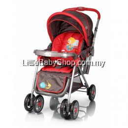 My Dear Baby Stroller With Carrier 18083 Red (Newborn - 4 years)