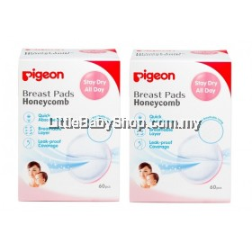 Pigeon Honeycomb Breast Pads 60PCS (TWIN PACK) BEST BUY