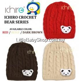 ICHIRO Head Gear Crochet Bear Series