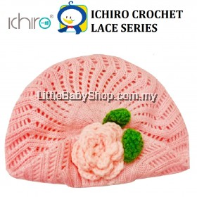ICHIRO Crochet Lace Series - Pink