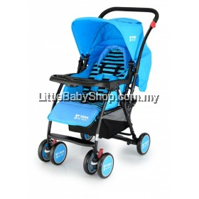 My Dear Baby Stroller 18038 - Blue (Newborn - 18 kg)