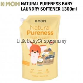 K-Mom Natural Pureness Baby Fabric Softener (1300ml) - NEW PACKAGING