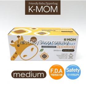 K-Mom Friendly babyproduct Zipper Bag 15pcs (Medium)