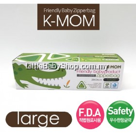 K-Mom Friendly babyproduct Zipper Bag 15pcs (Large)