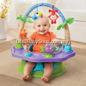 Summer Infant Deluxe Super seat Island Giggles 3-in-1