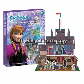 Disney Frozen Box Set: An Icy Adventure Storybook with 3D Play Model Scene